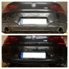 BMW F13 640d 313KM tył